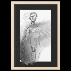 angel wood frame