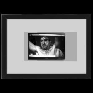 sherlock holmes black wood frame