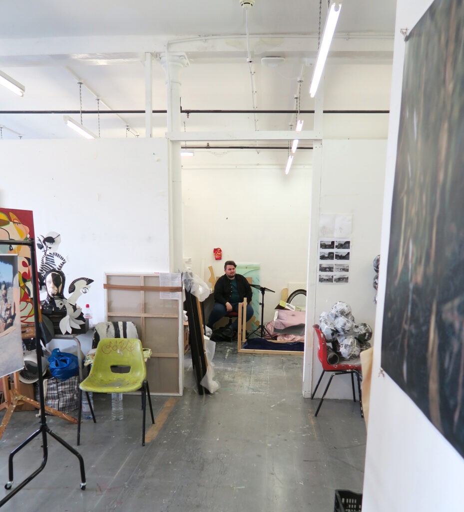 Partial view of CSM studio environment at Archway London on the website A Better Version