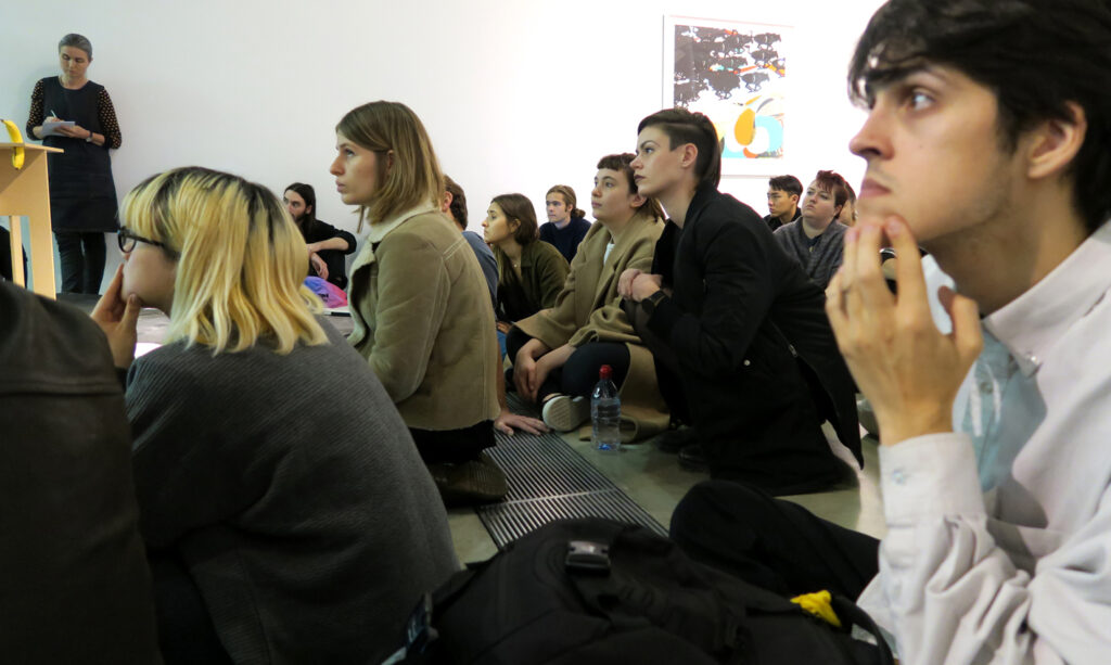 Group of students attending meeting at CSM in London on the website A Better Version